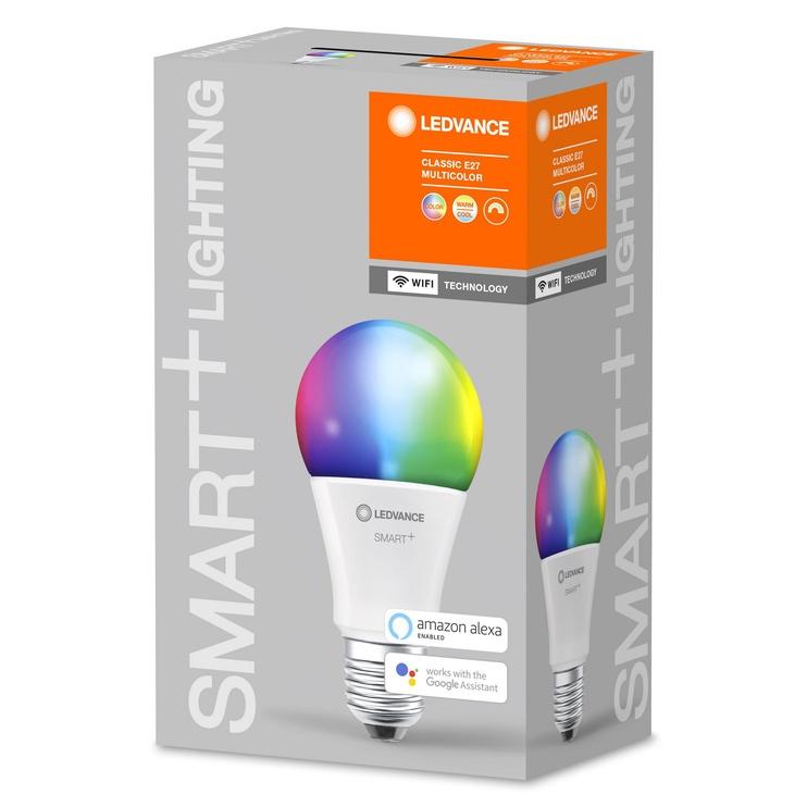 Nutipirn Ledvance LED, E27, A60, 9 W, 806 lm, 2700 - 6500 °K, rgb, 1 tk