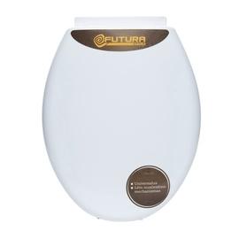 Prill-laud Domoletti L-012, aeglaselt sulguv, 45x75 cm, valge