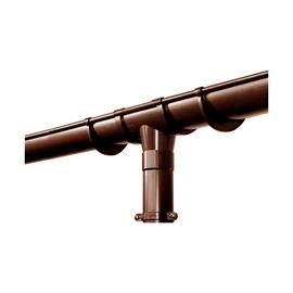 Scala Plastics Rain Drainage System Tube D50mm 2.8m Brown