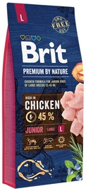 Brit Premium by Nature Junior Large Dog Chicken 15kg