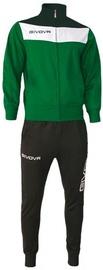 Givova Campo Tracksuit Black/Green L