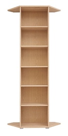 Black Red White BRW Office REGN Bookshelf Sonoma Oak