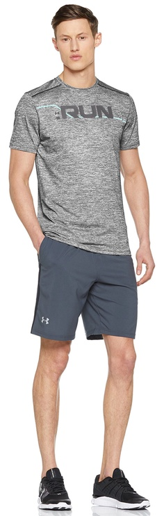 Under Armour T-Shirt Graphic SS 1316844-001 Gray XXL