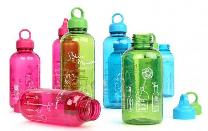Lock & Lock Loop Bottle 530ml Geen