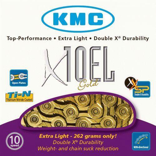 KMC Chain X10EL Ti-N Gold