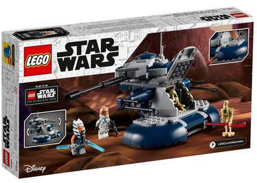 Konstruktor LEGO Star Wars Wars Armored Assault Tank AAT 75283, 286 tk