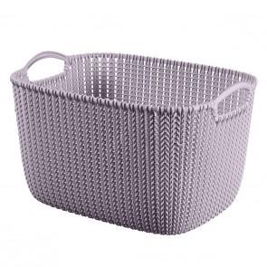 Curver Knit XS Rectangular Basket Light Purple
