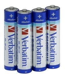 Verbatim Alkaline Batteries 4 x AAA