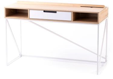 Homede Odel Desk Oak/White