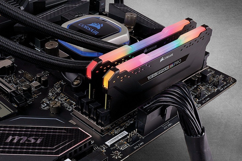 Corsair Vengeance RGB Pro Black 32GB 3000MHz CL15 DDR4 KIT OF 4 CMW32GX4M4C3000C15