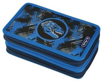 Herlitz 3 Side Pencil Case Dino Blue