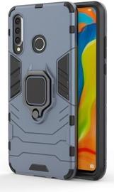 Hurtel Ring Armor Back Case For Huawei P30 Lite Blue