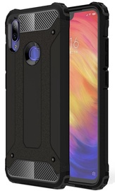 Hurtel Hybrid Armor Case Tough Rugged Cover For Xiaomi Redmi Note 7 Black