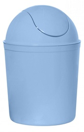 Plast Team Swing Round Waste Basket 21.3x21.3x31.5cm 5l Blue