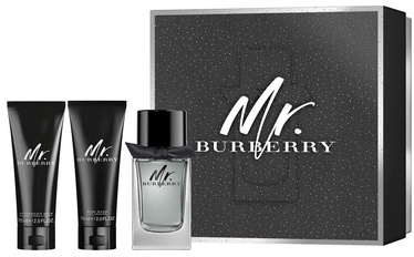 Burberry Mr. Burberry 100ml EDT + 75ml Aftershave Balm + 75ml Shower Gel