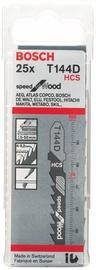 Bosch 2608633625 T 144 D Jigsaw Blades Set 25pcs