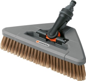 Gardena Cleansystem Wash Brush with Elbow Joint