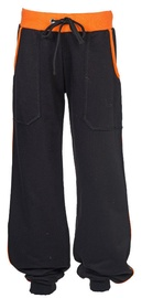 Bars Junior Sport Pants Black/Orange 42 128cm