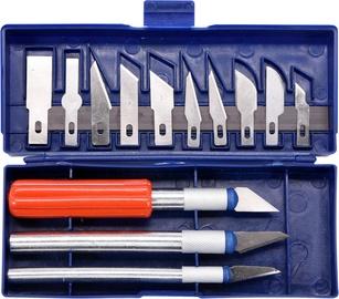 Vorel Wood Carving Knife Set 76305 16pcs