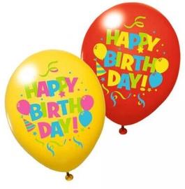 Воздушный шар Herlitz Happy Birthday, многоцветный, 6 шт.
