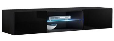 ТВ стол ASM RTV Fly 33 Black, 1600x400x300 мм