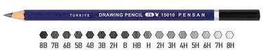 Pensan Drawing Pencil 15010 PE106H 6H
