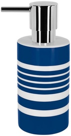 Spirella Soap Dispenser Tube Stripes Blue