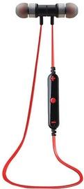 ipipoo iL91BL Bluetooth In-Ear Earphones Black/Red