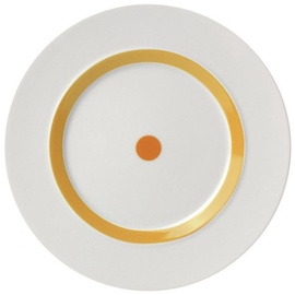 "ViceVersa Dessert Plate ""The Dot"" 23cm Yellow"