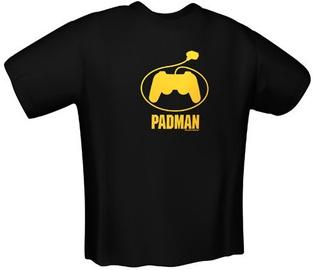 GamersWear PadMan T-Shirt Black XXL