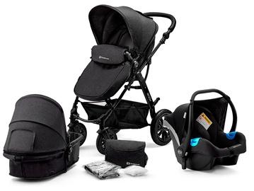Универсальная коляска KinderKraft Moov 3in1 Black