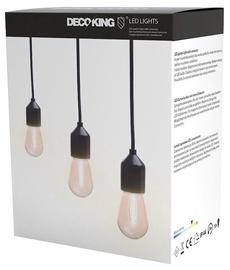 Электрическая гирлянда DecoKing LED Garden, белый, 3 м