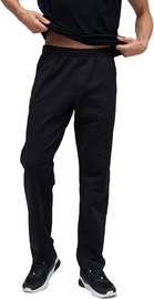 Audimas Stretch Cotton Relaxed Fit Sweatpants Black 184/L