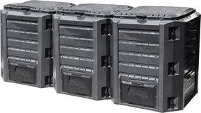 Kompostikast Verners IKSM1200C, 1200 l
