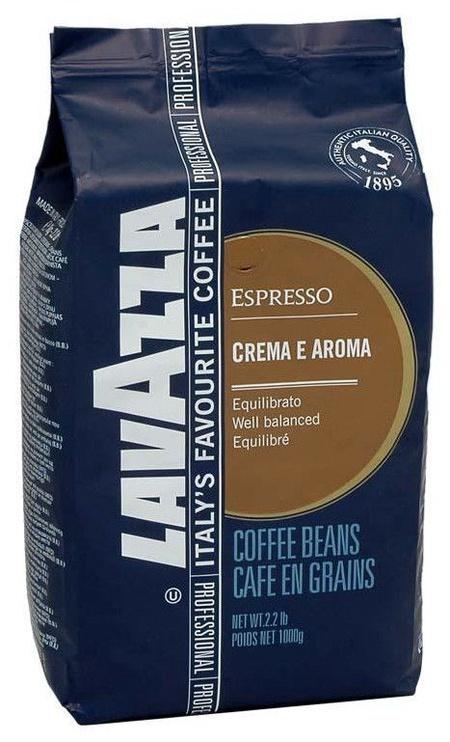 Lavazza Crema E Aroma Espresso Coffee Beans 1kg