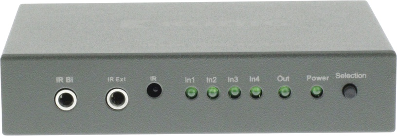 Konig 4-Port HDMI Splitter Dark Grey KNVSW3414
