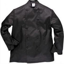 Viesnīcu Tekstils Chef Jacket Somerset S Black