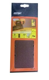 Ristkülikukujuline liivapaber Vagner SDH 108.31 120, 230x93 mm, 5 tk