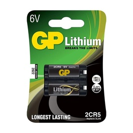 GP Batteries Electronic Device Battery 2CR5