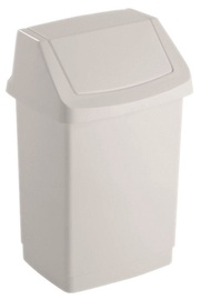 Curver Click-it Waste Bin 50L White