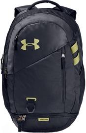 Under Armour Hustle 4.0 Backpack 1342651-005 Black/Green