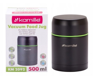 Kamille Vacuum Food Jug 500ml KM2092