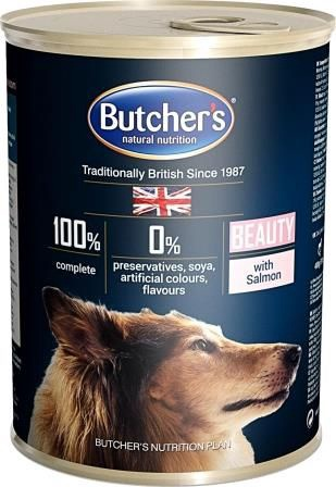 Butchers WCD Beauty With Salmon 400g