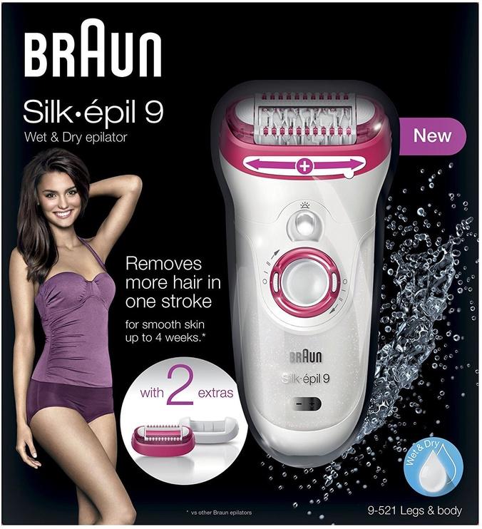 Epilaator Braun Silk-Epil 9 - 9521 Wet&Dry