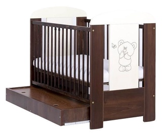Drewex Bed With Drawer Bear With Butterfly Walnut