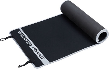 Spokey Flexmat V 180x60cm Black/Grey
