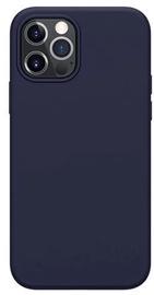 Mocco Liquid Silicone Soft Back Case Apple iPhone 12 / iPhone 12 Pro Blue