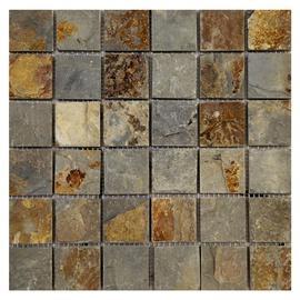 SN Stone Mosaic Cultural Rustic Tiles 30.5x30.5cm White