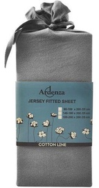 Ardenza Jersey Fitted Sheet 180-200x200cm Gray