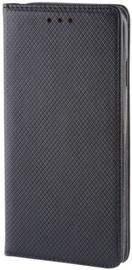 Forever Smart Magnetic Fix Book Case For Samsung Galaxy J3 J320F Black